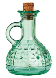 Olivia 210 ml Glass Cruet Bottle