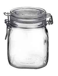 *ONLY 8 CASES LEFT IN STOCK* Fido 750 ml Hermetic Jar